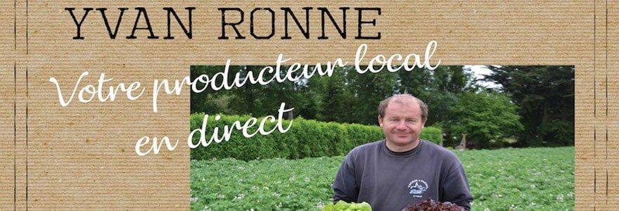 Yvan Ronné Producteur en direct de fruits et légumes (44) Saint Gildas des Bois